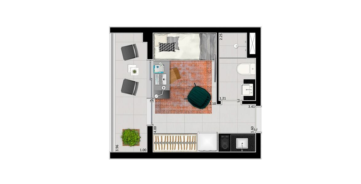 Planta do VN Humberto I. floorplan