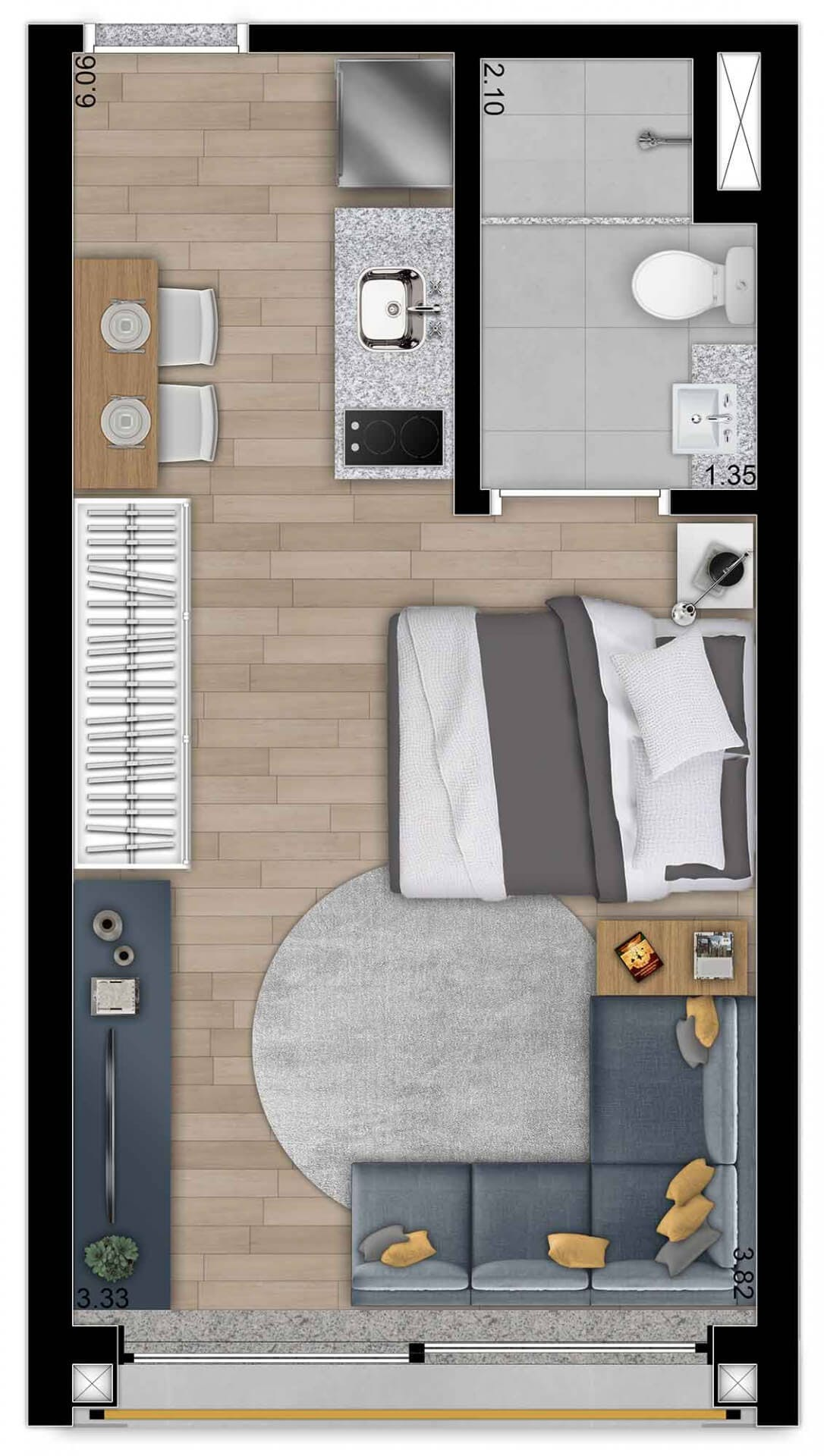 Planta do You, Harmonia. floorplan