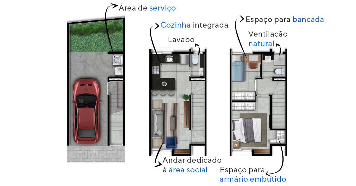 Planta do Cube Real Parque. floorplan